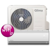 Qlima airco SC-3725(85m³) Split unit airco met snelkoppeling en WiFi module. SC3725