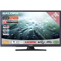 Salora LCD TV 20 inch CanalDigitaal gekeurd! ook geschikt voor Ziggo en Digitenne 12/230volt