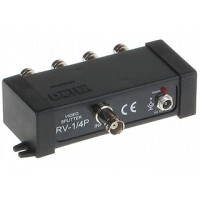 BNC splitter / multiplexer 4 kanalen (1 ingang 4 uitgang)