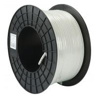 RG59 6.2mm Coax kabel 100meter op haspel wit